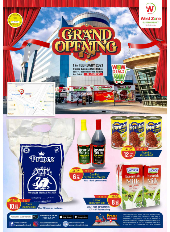 Grand Opening Offers - Burjuman, Dubai