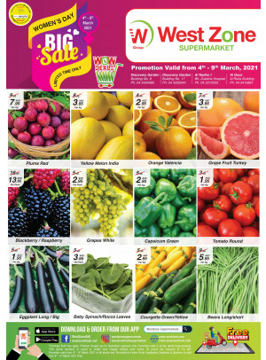 Big Sale - West Zone Fresh
