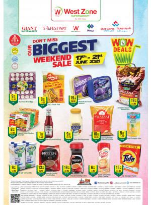 Biggest Weekend Summer Sale