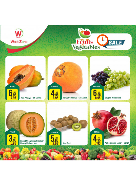 Fruits & Vegetables Offers