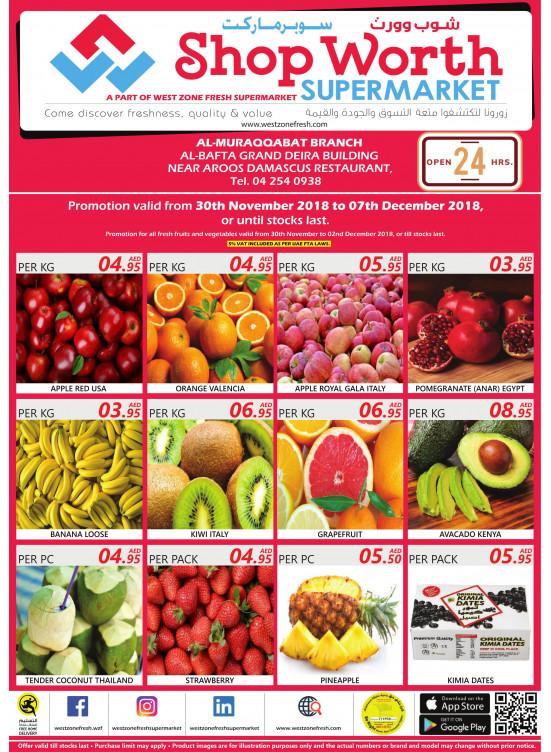 Super Deals - West Zone Fresh Al Muraqqabat