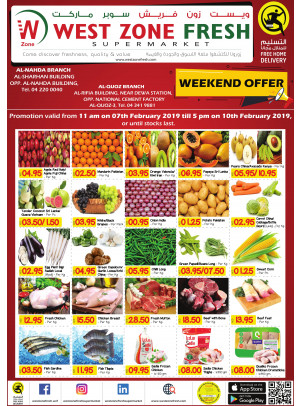Weekend Offers - Al Qouz & Al Nahda