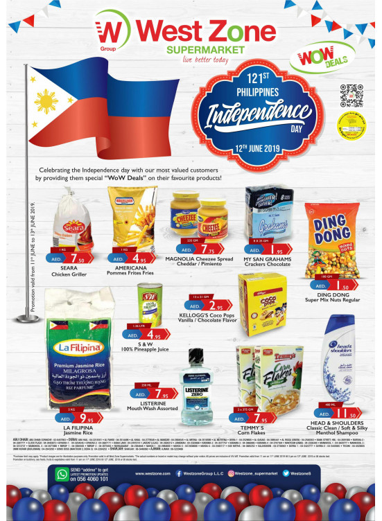 Philippines Independence Day Sale