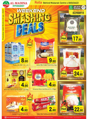 Weekend Smashing Deals - Rolla, Sharjah