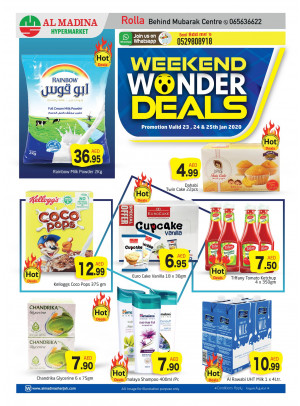 Weekend Wonder Deals - Rolla, Sharjah
