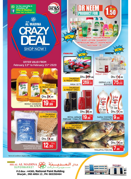 Crazy Deals - National Paints