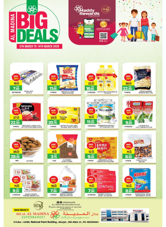 Big Deals - National Paints