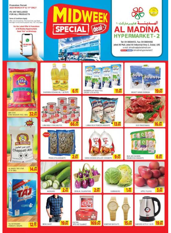 Midweek Special Deals - Jebel Ali