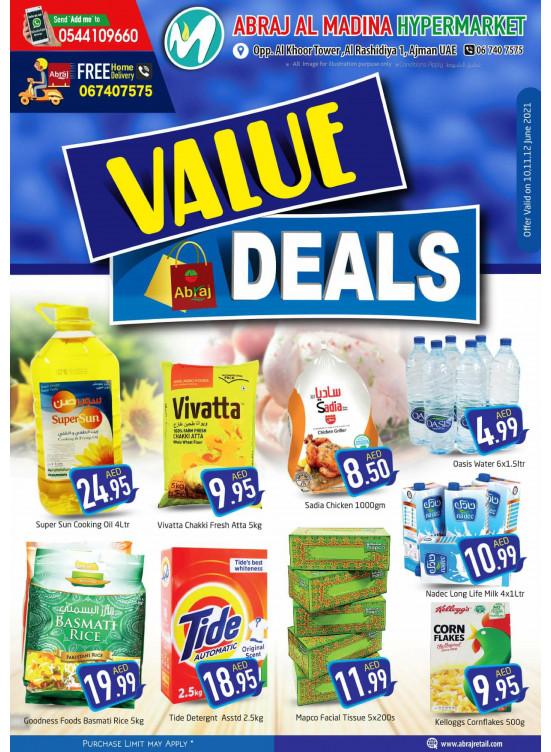 Value Deals - ِAbraj Al Madina, Ajman