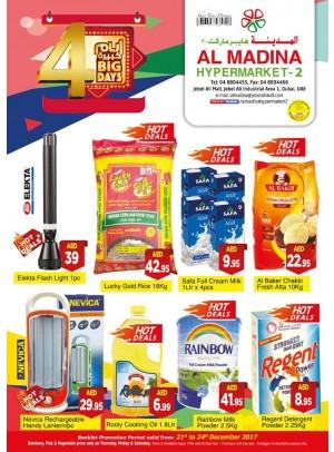 4 Big Days Offers - Al Madina Hypermarket 2 - Jabel Ali