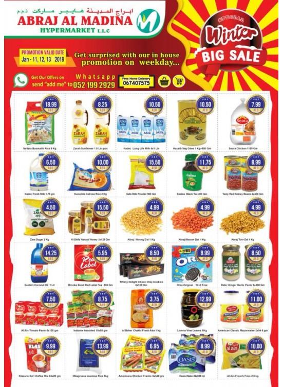 Special Winter Big Sale - Abraj Al Madina Hypermarket, Ajman