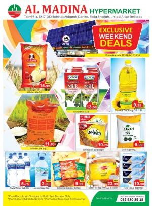 Exclusive Weekend Deals - Rolla, Sharjah