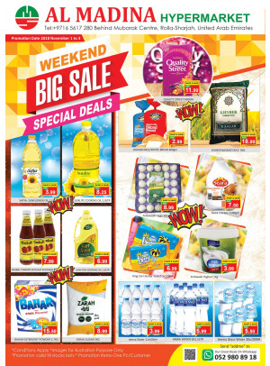 Weekend Big Sale - Rolla, Sharjah