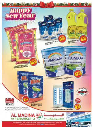 New Year Offers - Al Madina Hypermarket 2 Jebel Ali
