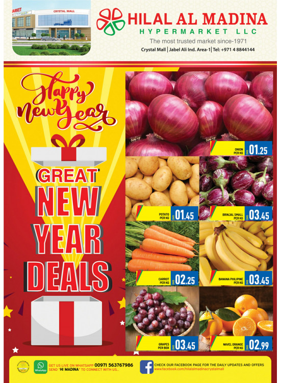 Great New Year Deals