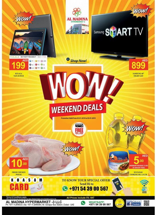 WoW Weekend Deals - Muhaisnah 2