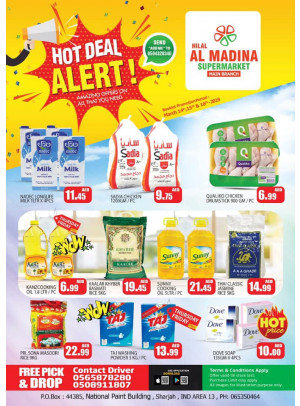Hot Deals - Hilal Al Madina Supermarket National Paints