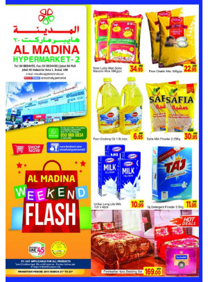 Weekend Flash Offers - Al Madina Hypermarket 2 Jebel Ali