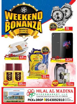 Weekend Bonaza - Hilal Al Madina Jebel Ali