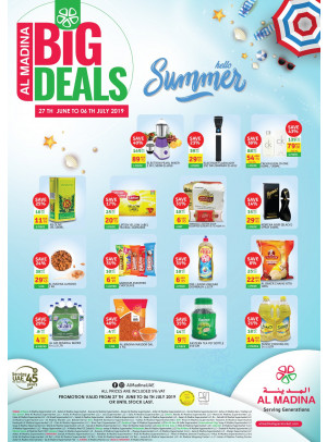 Big Deals - Hello Summer Offers