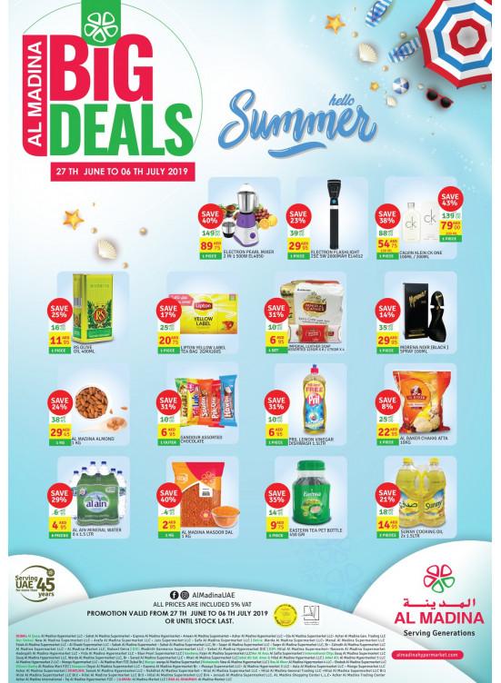 Big Deals - Hello Summer Offers