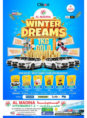 Winter Dreams - Jebel Ali