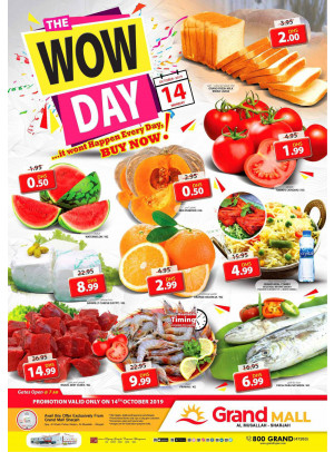 Wow Day - Grand Mall Sharjah