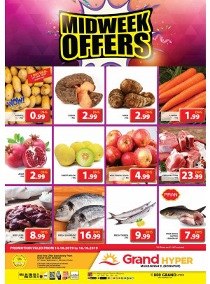 Midweek Offers - Grand Hyper Muhaisnah