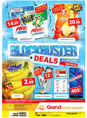 Blockbuster Deals - Grand Hypermarket Jebel Ali