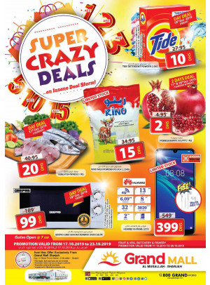 Super Crazy Deals - Grand Mall Sharjah