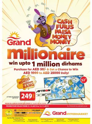 Grand Millionaire Offers - Dubai Branches