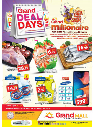 Grand Deal Days - Grand Mall Sharjah