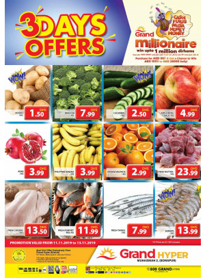 3 Days Offers - Grand Hyper Muhaisnah