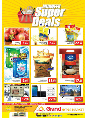 Midweek Super Deals - Grand Hypermarket Jebel Ali