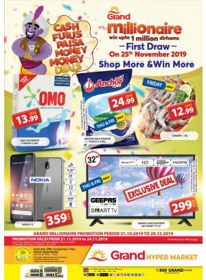 Grand Millionaire Offers - Grand Hypermarket Jebel Ali