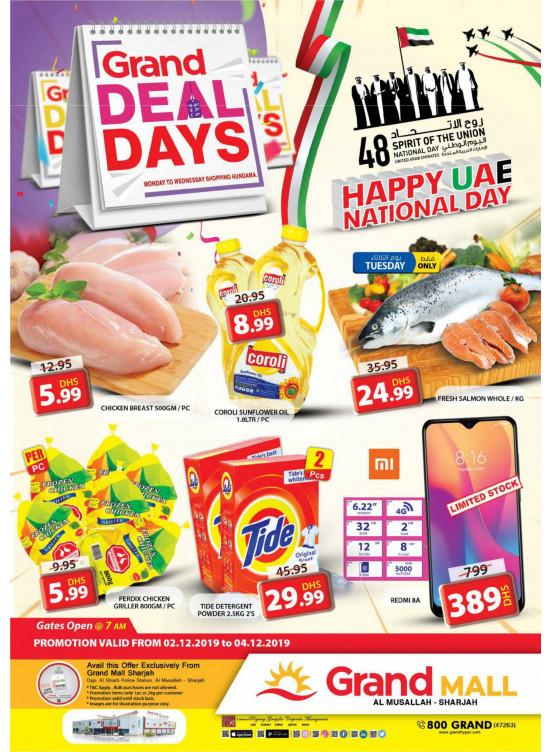 Grand Deal Days - Grand Mall Sharjah