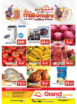 Grand Millionaire Offers - Grand Hyper Al Khail Mall