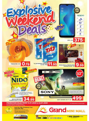Explosive Weekend Deals - Grand Mini Mall