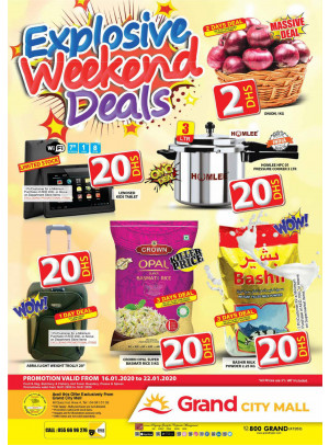 Explosive Weekend Deals - Grand City Mall