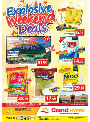 Explosive Weekend Deals - Grand Hyper Muhaisnah