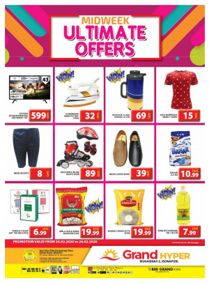 Midweek Ultimate Offers - Grand Hyper Muhaisnah