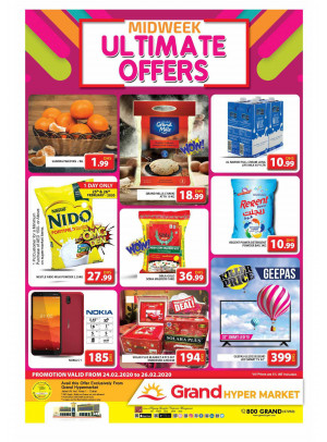 Midweek Ultimate Offers - Grand Hypermarket Jebel Ali