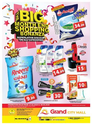 The Big Month End Shopping Bonanza - Grand City Mall
