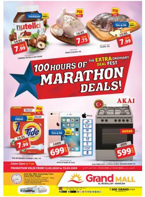 Marathon Deals - Grand Mall Sharjah