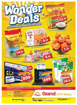 Wonder Deals - Grand City Mall