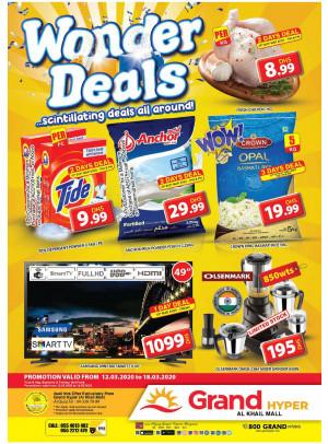 Wonder Deals - Grand Hyper Al Khail Mall