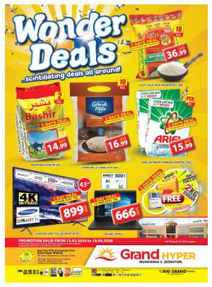 Wonder Deals - Grand Hyper Muhaisnah