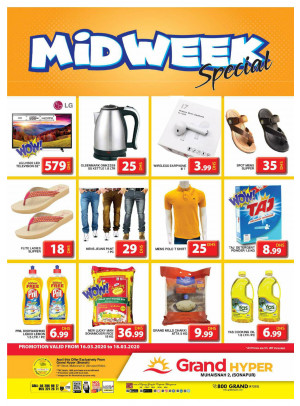 Midweek Special Offers - Grand Hyper Muhaisnah