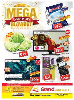 Mega Anniversary Blowout - Grand Mini Mall