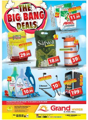 The Big Bang Deals - Grand Hyper Al Khail Mall